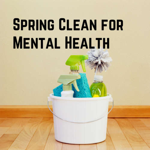 spring clean for mental health