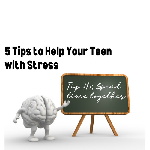 help your teen with stress