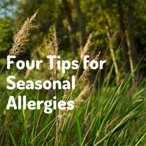 tips for seasonal allergies